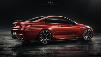 бмв, купе, bmw m6, автообои, duron automotive, tuning, тюнинг, red