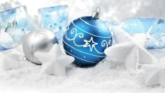 merry christmas, decoration, presents, snow stars, , new year, ornaments, balls