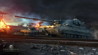 wargaming net, fv4202, conqueror, мир танков, world of tanks, wot
