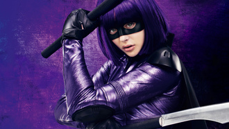 убивашка, chloe moretz, movie, hit girl, 2013, kick ass 2
