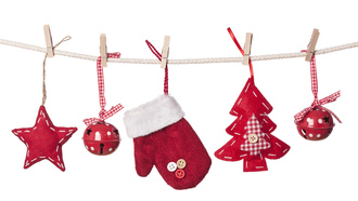 decorations, balls, new year, toys, merry christmas, glove, christmas tree, stars