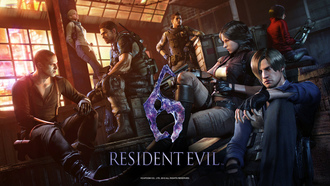 leon scott kennedy, chris redfield, sherry birkin, jake muller, resident evil 6, biohazard 6
