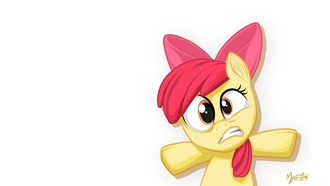 пони, apple bloom, my little pony, mysticalpha