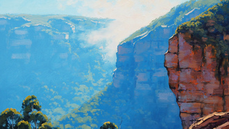 artsaus, рисунок, echo point katoomba, арт