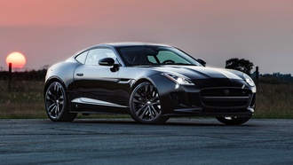 2014, hennessey, jaguar, f-type-r, coupe, hpe600, ягуар