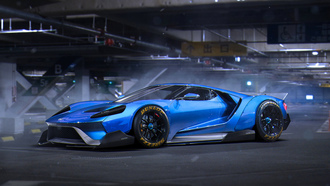 ford, gt, 2015, liberty, walk, blue, tuning, by-khyzyl-saleem