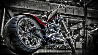 custom, harley, bike, мотоцикл, хром, кастом