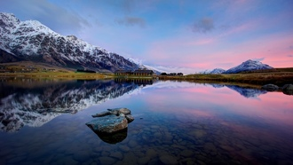 новая зеландия, jacks point, lake wakatipu, new zealand, queenstown