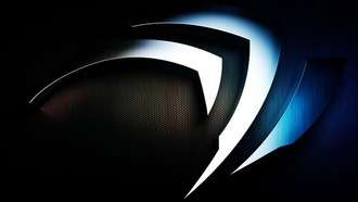 metal, logo, brand, metal logo, background, nvidia, technology