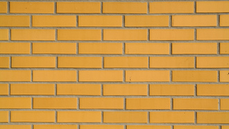 wall, pattern, yellow, brick