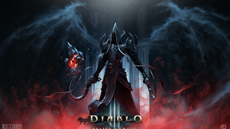 reaper of souls, серпы, diablo, angel of death, ангел, malthael, крылья