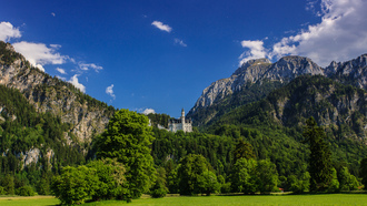 замок нойшванштайн, germany, бавария, neuschwanstein castle, bavaria
