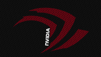 red, black, white, letters, nvidia