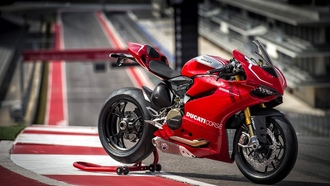 Мото, beauty-ducati-race-racing-panigale-superbike-1199