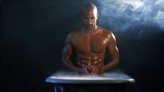 ricky whittle, ванна, actor