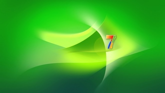 windows 7, заставка