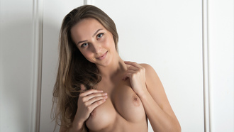 alexia, brunette, sexy girl, adult model, nude