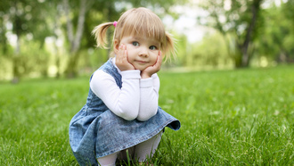 child, funny, happiness, blonde little girl, childhood, stylish little girl , children, pretty