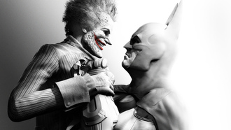 joker, batman, batman arkham city,  джокер