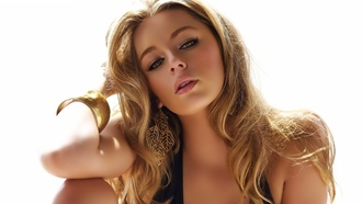 blonde, smooth, keeley hazell