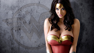 cosplay, wonder woman, alice goodwin