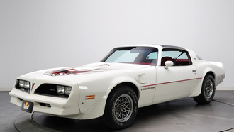 понтиак, firebird, ретро, файрберд, white, retro, trans am, 1978, pontiac