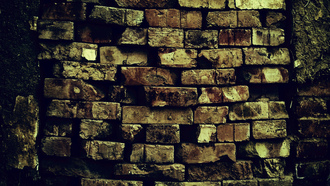 wall, brick, pattern