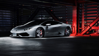 машина, hyperforged, huracan, white, lp640-4, wheels, supercar, lamborghini