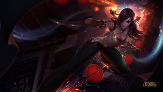 league of legends, katarina