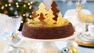 cake, christmas, holiday, dessert, christmas tree, merry christmas, happy new year, decoration