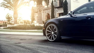 автомобиль, wallpapers, audi, sun, car, a7, wheels, обоя, tuning, beautiful, vossen