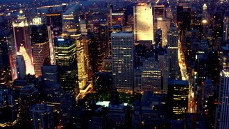 New york city, megapolis