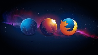 Aurora, Browser, Firefox, Logo, Mozilla, Mozilla Firefox, Nightly, Браузер, Космос, Лиса, Логотип