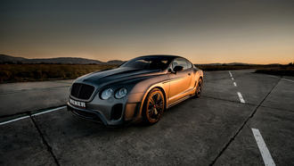 бентли, bentley continental gt, vilner, car, купе, tuning, авто