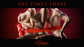 she times three, balassa, 3d