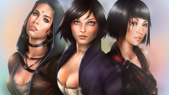 girls, art, dmc, devil may cry, ket, kat, igry