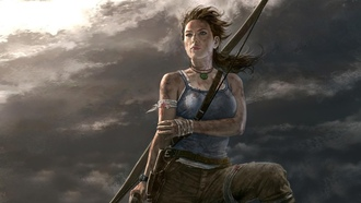 tomb raider, artwork, video games, lara croft