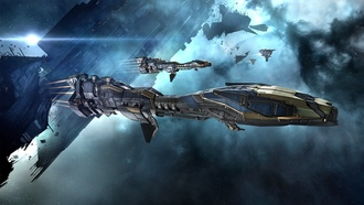 video games, spaceship, concept art, science fiction, space, stabber cruiser