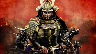 total war shogun 2, samurai, warrior, video games, katana