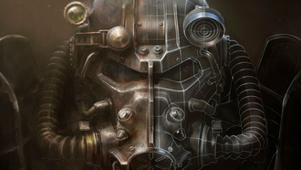 fallout 4, helmet, artwork, bethesda, video games