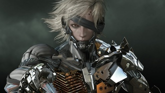 metal gear rising, revengeance, video games, render, armor