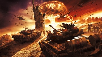 world in conflict, video games
