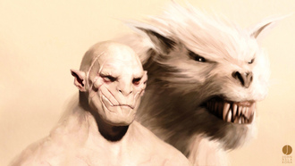 фильм, фэнтези, azog oskvernitel iz filma lord of the rings