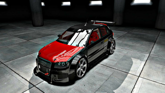 shift 2 unleashed, audi s3, чёрный