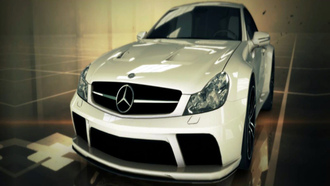most wanted 2012, mercedes sls 65 amg, белый
