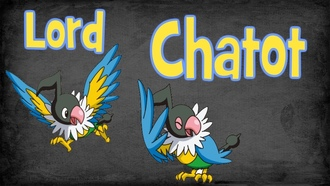 pokemon, chatot
