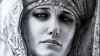 kingdom of heaven, sibylla, eva green, art