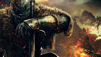 dark souls ii, dark souls, воин, рыцарь, from software, namco bandai games