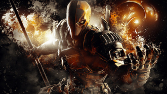 batman arkham origins, deathstroke, warner bros games montreal, dc comics, arkham origins, video