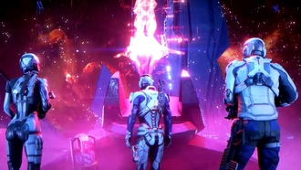 mass effect, andromeda team, andromeda